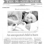 TORONTO STAR 2000-12-24 Miracle baby (CANCER SCAM)